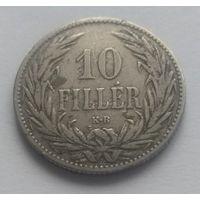 Венгрия,10 филлеров, 1894 год
