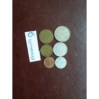 6 монет германии