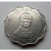 10 долларов Ямайка 1999 год - из коллекции