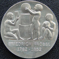 YS: ГДР, 5 марок 1982, 200-летие Фридриха Фрёбеля, немецкого педагога, KM# 84