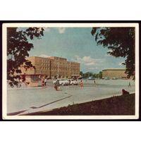 1965 год Калиниград Площадь Победы