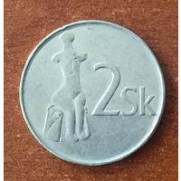 Словакия, 2 кроны 1994