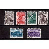 СССР-1950 (Заг.1449-1454)   гаш., Латвийская ССР