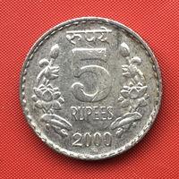 75-16 Индия, 5 рупий 2000 г.