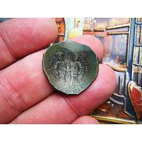Аспрон(чашка)  Мануил 1й Комнин 1143-1180 г. СОХРАН!
