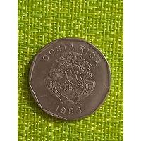 Коста-Рика 20 колон 1983 г
