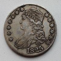 США. 50 ЦЕНТОВ 1825. РАСПРОДАЖА !