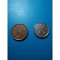 Нидерланды 2 монеты