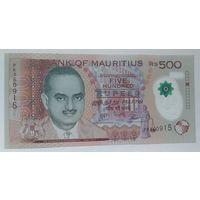 Маврикий 500 рупий 2017 года полимерная UNC