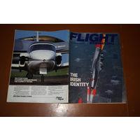 Авиационный журнал FLIGHT INTERNATIONAL - июль 1988