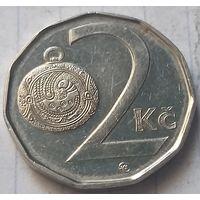 Чехия 2 кроны, 2009     ( 3-8-2 )