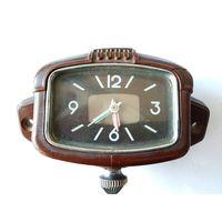 Часы автомобильные механические 7 суток завод 50-ые годы СССР