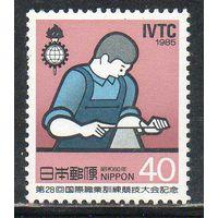 Рабочий Япония  1985 год чистая серия из 1 марки (М)