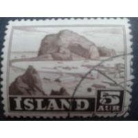 Исландия 1954 скалы