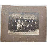 Фото первого выпуска Жлобинского начального училища 1915 34 x 27 см
