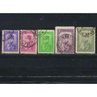 Иран 1935 Шах Реза Пехлеви Стандарт #687-8,690,696,698