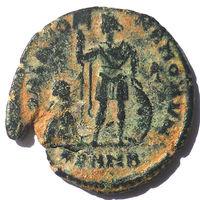 АРКАДИЙ (395-408 г.) ГЕРАКЛЕЯ. АЕ2.