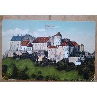 Старинная открытка. Замок Бюрхаузен. Германия. Подписана.