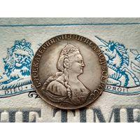 Монета РИ, 1 рубль 1784.