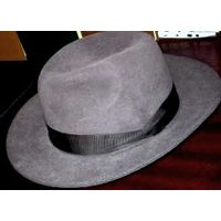 Шляпа маркировка 56 Германия новая натуральная велюровая винтаж середина 70-х Прекрасный цвет. Из личной коллекции