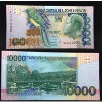 Банкноты мира. Сан-Томе и Принсипи, 10000 добр
