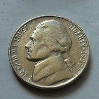 5 центов, США 1989 P