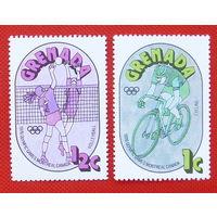 Гренада. Спорт. ( 2 марки ) 1976 года.