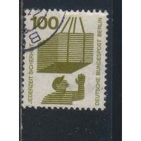 Германия Зап.Берлин 1971 Вып Техника безопасности Стандарт #410