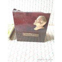 Миниатюрная накладка на камне портрета Ленина