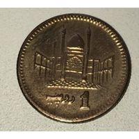 Пакистан 1 рупия 2002 г