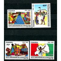 Руанда - 1990г. - 30-летие революции - полная серия, MNH [Mi 1425-1428] - 4 марки