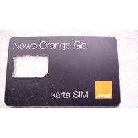 Карта Nowe Orange Go распродажа