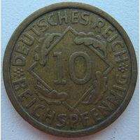 Германия 10 рейхспфеннигов 1929 г. (А)