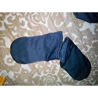Теплые рукавицы (есть разные расцветки)
