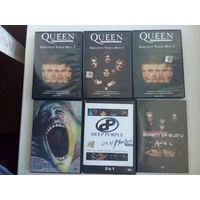 Dvd диски,рок музыка,2р шт