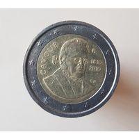 2 евро, 2010 Италия Кавур