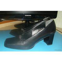 Туфли женские, натуральная кожа, р-р 38 за сиимволическую цену