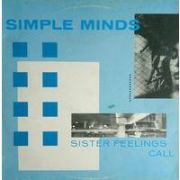 Simple Mind/Sister Feelings Call/1981, Virgin, England, LP, EX