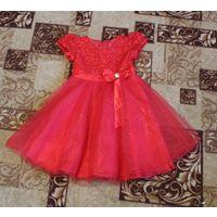 Праздничное платье на девочку 115-130 р