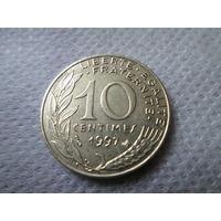 10 сантим, Франция 1997 г.