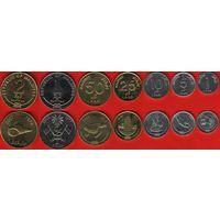 Мальдивы НАБОР 7 монет 2007-2012 UNC