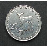 Грузия 20 тетри 1993 г.