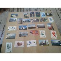 Телефонные карточки (112 штучек)