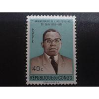 Конго 1961 президент