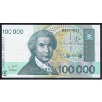Хорватия / CROATIA_30.05.1993_100.000 Dinara_P#27.a_UNC