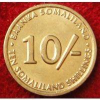 6843:  10 шиллингов 2002 Сомали