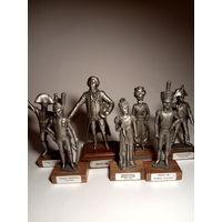 Коллекция Фигурки олово Франция винтаж