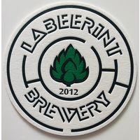 Подставка под пиво пивоварни Labeerint brewery /Россия/
