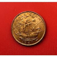 55-14 Великобритания, 1/2 пенни 1967 г.