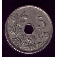 5 сентимос 1922 год Бельгия